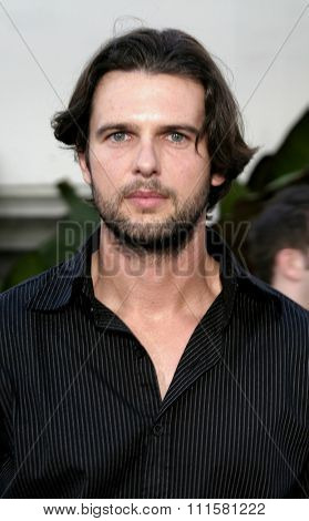 HOLLYWOOD, CA - JULY 15, 2004: Matt Lindquist at the World premiere of 'The Bourne Supremacy' held at the ArcLight Cinema in Hollywood, USA on July 15, 2004.