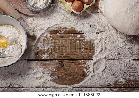 Ingredients For Homemade Dough