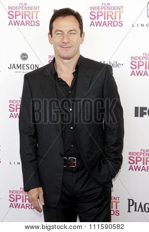 Jason Isaacs at the 2013 Film Independent Spirit Awards held at the Santa Monica Beach in Los Angeles, United States on February 23, 2013.