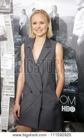 Alison Pill at the HBO's Season 2 Premiere Of