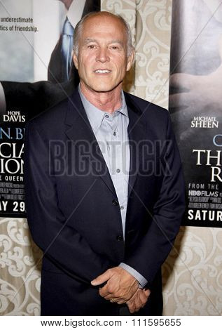 HOLLYWOOD, CALIFORNIA - May 18, 2010. Frank Marshall at the Los Angeles premiere of 'The Special Relationship' held at the Director's Guild of America in Hollywood.