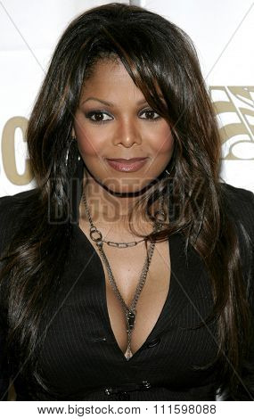 BEVERLY HILLS, CALIFORNIA. May 16, 2005. Janet Jackson attends at the 22nd Annual ASCAP Pop Music Awards at the Beverly Hilton Hotel in Beverly Hills, California.