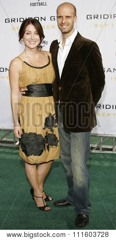 HOLLYWOOD, CALIFORNIA. September 5, 2006. Edoardo Ponti and Sasha Alexander at the Los Angeles Premiere of