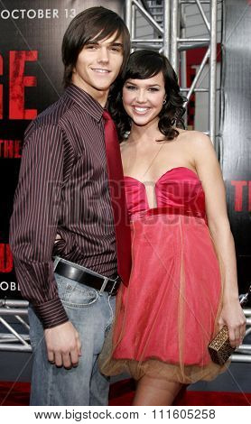 BUENA PARK, CALIFORNIA. October 8, 2006. Arielle Kebbel attends the World Premiere of