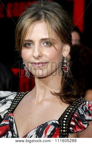 BUENA PARK, CALIFORNIA. October 8, 2006. Sarah Michelle Geller attends the World Premiere of