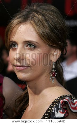 10/08/2006 - Buena Park - Sarah Michelle Gellar at the World Premiere of