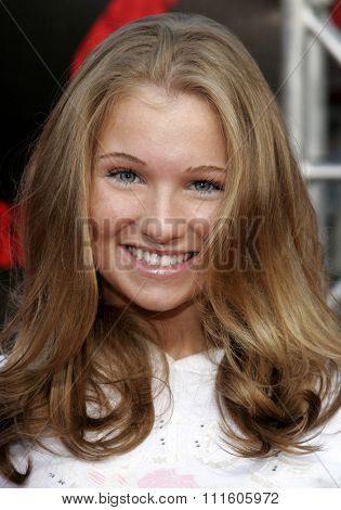 10/08/2006 - Buena Park - Ashley Rose Orr at the World Premiere of