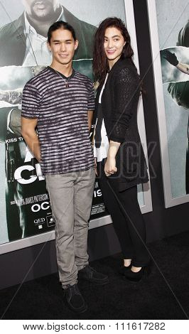 BooBoo Stewart and Fivel Stewart at the Los Angeles premiere of 'Alex Cross' held at the ArcLight Cinemas in Los Angeles, USA on October 15, 2012.