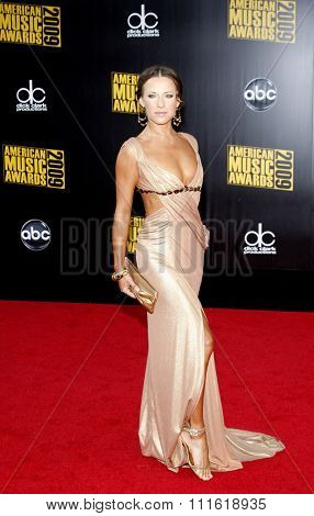 Edyta Sliwinska at the 2009 American Music Awards at Nokia Theatre L.A. Live in Los Angeles, USA on November 22, 2009.