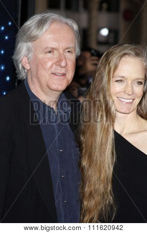 James Cameron and Suzy Amis at the Los Angeles premiere of 'Avatar' held at the Grauman's Chinese Theatre in Hollywood, USA on December 16, 2009.