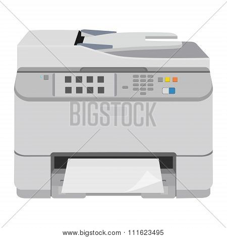 Realistic printer scanner