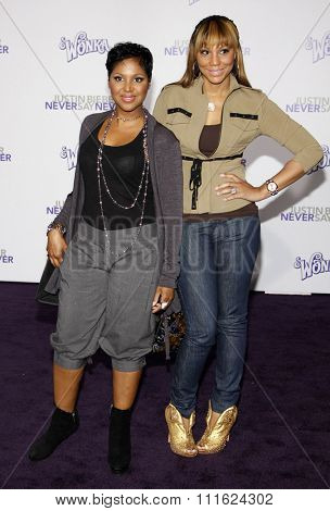 Toni Braxton at the Los Angeles Premiere of