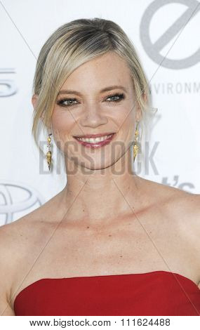 Amy Smart at the 2015 EMA Awards held at the Warner Bros. Studios in Burbank, USA on October 24, 2015.