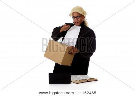 Young American Judge Man, Screaming