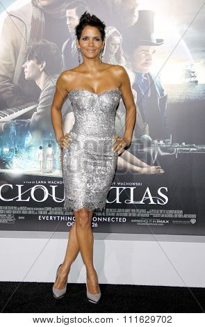 Halle Berry at the Los Angeles premiere of