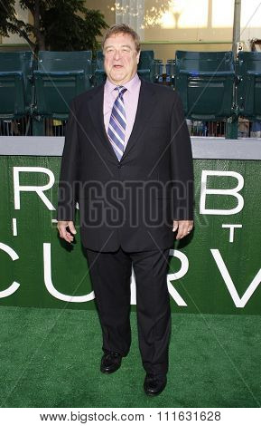 LOS ANGELES, CALIFORNIA - September 19, 2012. John Goodman at the Los Angeles premiere of 'Trouble With The Curve' held at the Mann's Village Theatre, Los Angeles.