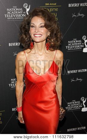 Susan Lucci at the 39th Annual Daytime Emmy Awards held at the Beverly Hilton Hotel in Beverly Hills, USA on June 23, 2012.