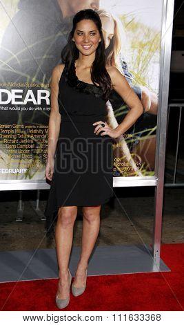 Olivia Munn at the World Premiere of
