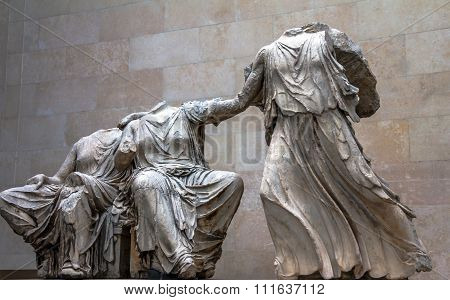 Marble From Acropolis Greece Or Elgin Marble