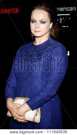 HOLLYWOOD, CALIFORNIA - November 3, 2009. Samatha Morton at the AFI FEST 2009 Screening of