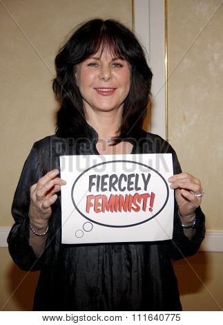 BEVERLY HILLS, CALIFORNIA - May 1, 2012. Mavis Leno at the Feminist Majority Foundation event held at the Beverly Hills Hotel, Los Angeles.