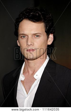 HOLLYWOOD, CALIFORNIA - August 17, 2011. Anton Yelchin at the Los Angeles screening of