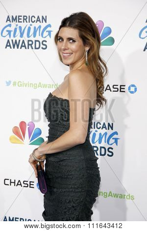 Jamie-Lynn Sigler at the 2nd Annual American Giving Awards held at the Pasadena Civic Auditorium in Los Angeles, California, United States on December 7, 2012.