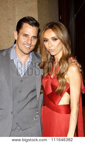 Bill Rancic and Giuliana Rancic at the 37th Annual Gracie Awards Gala held at the Beverly Hilton Hotel in Los Angeles, USA on May 22, 2012.