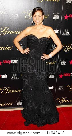 Constance Marie at the 37th Annual Gracie Awards Gala held at the Beverly Hilton Hotel in Los Angeles, USA on May 23, 2012.