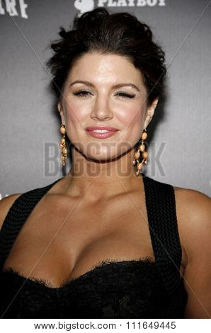 Gina Carano at the Los Angeles Premiere of