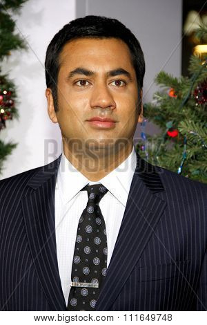 HOLLYWOOD, CALIFORNIA - November 2, 2011. Kal Penn at the Los Angeles premiere of