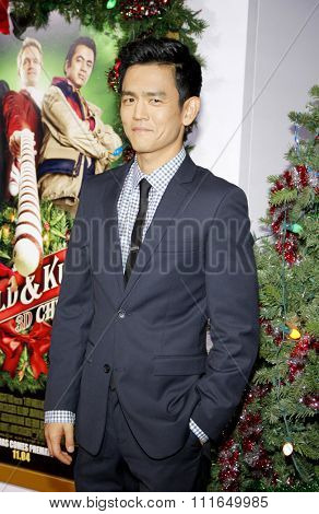 LOS ANGELES, USA - John Cho at the Los Angeles Premiere of
