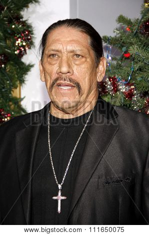 HOLLYWOOD, CALIFORNIA - November 2, 2011. Danny Trejo at the Los Angeles premiere of