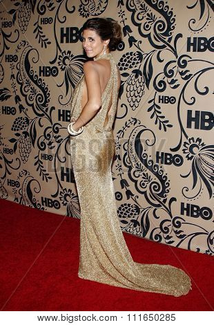 20/09/2009 - West Hollywood - Jamie-Lynn Sigler at the HBO POST EMMY Party held at the Pacific Design Center in Hollywood, California, United States.