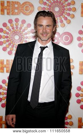 WEST HOLLYWOOD, CALIFORNIA - September 18, 2011. Sam Trammell at the HBO's 2011 Emmy After Party held at the Pacific Design Center, Los Angeles.