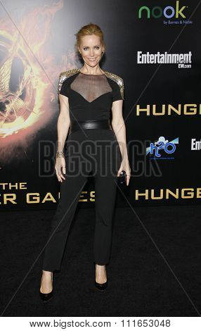 LOS ANGELES, CALIFORNIA - March 12, 2012. Leslie Mann at the Los Angeles premiere of