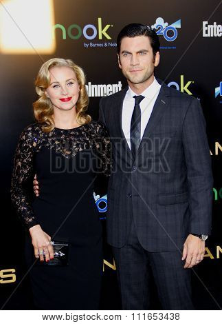 Jacqui Swedberg and Wes Bentley at the Los Angeles Premiere of