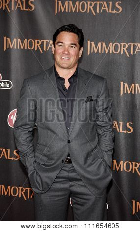 LOS ANGELES, CALIFORNIA - November 7, 2011. Dean Cain at the World premiere of