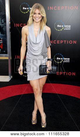 HOLLYWOOD, CALIFORNIA - July 13, 2010. AnnaLynne McCord at the Los Angeles premiere of