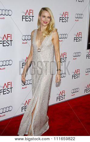 Naomi Watts at the AFI Fest 2011 Opening Night Gala World Premiere Of