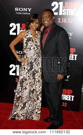 HOLLYWOOD, CALIFORNIA - March 13, 2012. Holly Robinson Peete at the Los Angeles premiere of