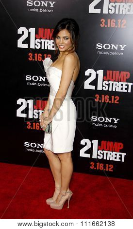 Jenna Dewan at the Los Angeles Premiere of