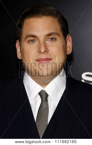 HOLLYWOOD, CALIFORNIA - March 13, 2012. Jonah Hill at the Los Angeles premiere of