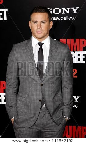 HOLLYWOOD, CALIFORNIA - March 13, 2012. Channing Tatum at the Los Angeles premiere of