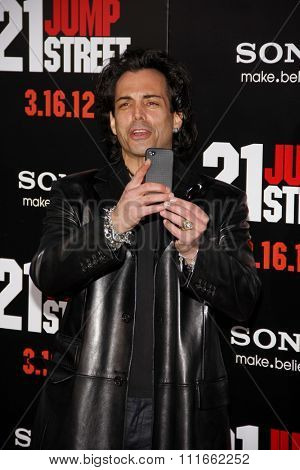 HOLLYWOOD, CALIFORNIA - March 13, 2012. Richard Grieco at the Los Angeles premiere of