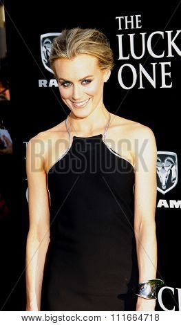 Taylor Schilling at the Los Angeles Premiere of