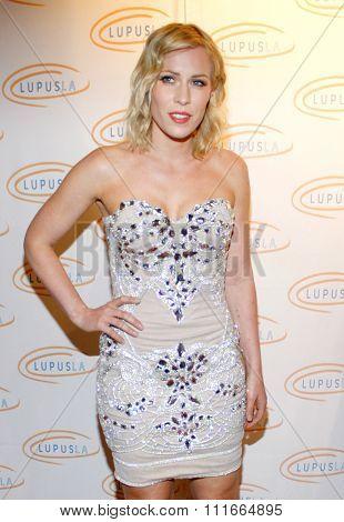 LOS ANGELES, CALIFORNIA - May 24, 2012. Natasha Bedingfield at the 12th Annual Lupus LA Orange Ball held at the Beverly Wilshire Hotel in Los Angeles, Los Angeles.