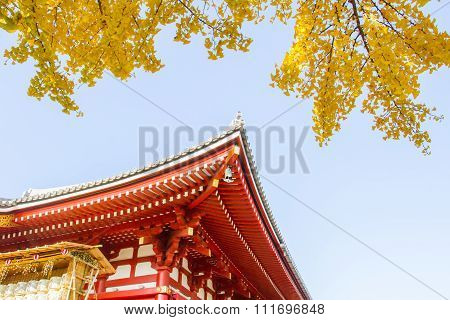 Sensoji buddhist temple
