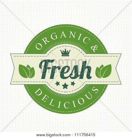 Eco Bio Vintage Label