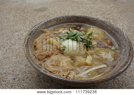 Fish Maw In Chicken Broth